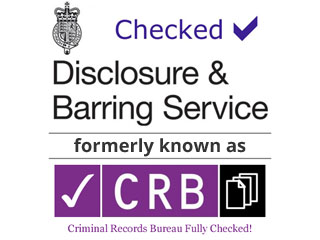 Checked At The Disclosure And Barring Service Formerly Known As C.R.B.